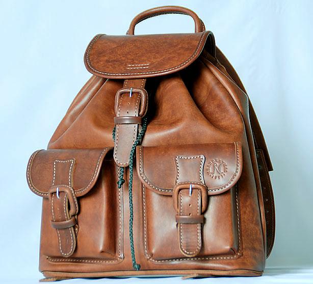 Кожаный рюкзак на заказ сшить 77